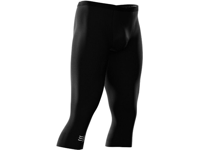 Compressport Trail Running Under Control 3/4 Pirate Pants Dames, black